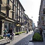 Via Paolo Sarpi Milan, Italy