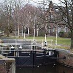 Sluis Haarlemmervaart Amsterdam, Netherlands