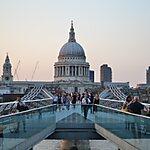 Millennium Bridge London, United Kingdom