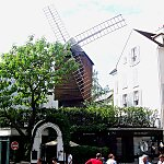 Moulin de la Galette (Moulin Blute-Fin) Paris, France