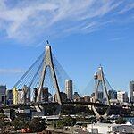 Anzac Bridge Sydney, Australia
