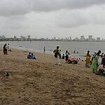 Girgaum Chowpatty Beach Mumbai, India