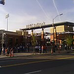BB&T Ballpark Charlotte, North Carolina, USA