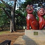 Parque Gato de Tejada y Las Novias del gato Cali, Colombia