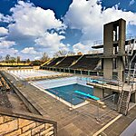 Olympia-Schwimmstadion Berlin, Germany