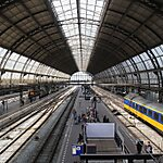 Centraal Station Amsterdam, Netherlands