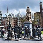 Rembrandtplein Amsterdam, Netherlands