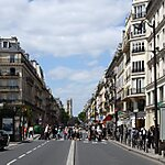 Rue de Rivoli Paris, France