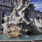Fontana dei Quattro Fiumi Rome, Italy