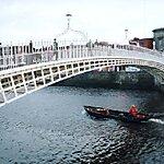 Ha'penny Bridge Dublin, Ireland