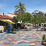 Spanish Village Art Center San Diego, USA