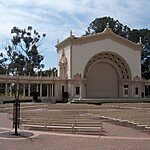 Spreckels Organ Pavillion San Diego, USA