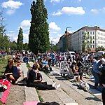 Flohmarkt am Mauerpark Berlin, Germany