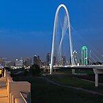 Margaret Hunt Hill Bridge Dallas, USA
