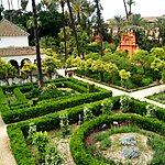Jardines del Palacio Seville, Spain