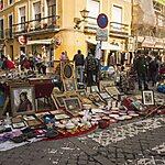 Mercado El Jueves Seville, Spain