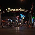 Fremont East District Las Vegas, USA