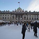Somerset House Ice Rink London, United Kingdom
