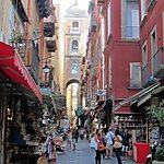 Via San Gregorio Armeno Naples, Italy