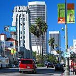 Wilshire Boulevard Los Angeles, USA