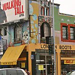 Melrose Avenue Los Angeles, USA