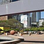 Pershing Square Ice Rink Los Angeles, USA