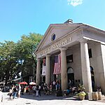 Quincy Market Boston, USA