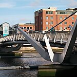 Seán O'Casey Pedestrian Bridge Dublin North City Poor Law Union, Ireland