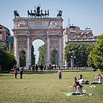 Arco della Pace Milan, Italy