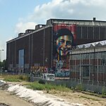 Veer NDSM Werf Amsterdam, The Netherlands