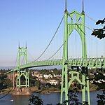 Saint Johns Bridge Portland, Oregon, USA