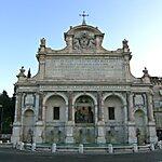 Fontana Dell'Acqua Paola Rome, Italy