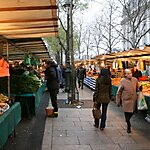Marché Bastille Paris, France