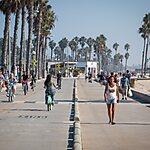 Venice Beach Boardwalk Los Angeles, USA