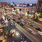 Hollywood Boulevard Los Angeles, USA