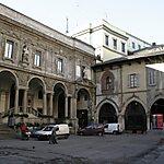 Piazza Mercanti Milan, Italy