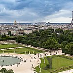 Jardin des Tuileries Paris, France