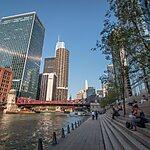 Chicago River Walk Chicago, USA
