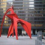 Calder's Flamingo Chicago, USA