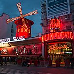 Le Moulin Rouge Paris, France