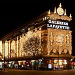 Galeries Lafayette Haussmann Paris, France