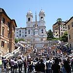 Trinità dei Monti Rome, Italy