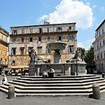 Piazza di Santa Maria in Trastevere Rome, Italy