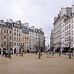 Place Dauphine Paris, France