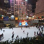 The Rink at Rockefeller Center New York City, USA