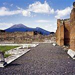 Scavi archeologici di Pompei Naples, Italy