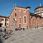 Santa Maria delle Grazie Milan, Italy
