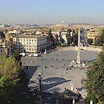 Piazza del Popolo Rome, Italy