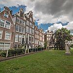 Begijnhof Amsterdam, Netherlands