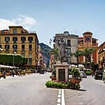 Piazza Tasso Naples, Italy